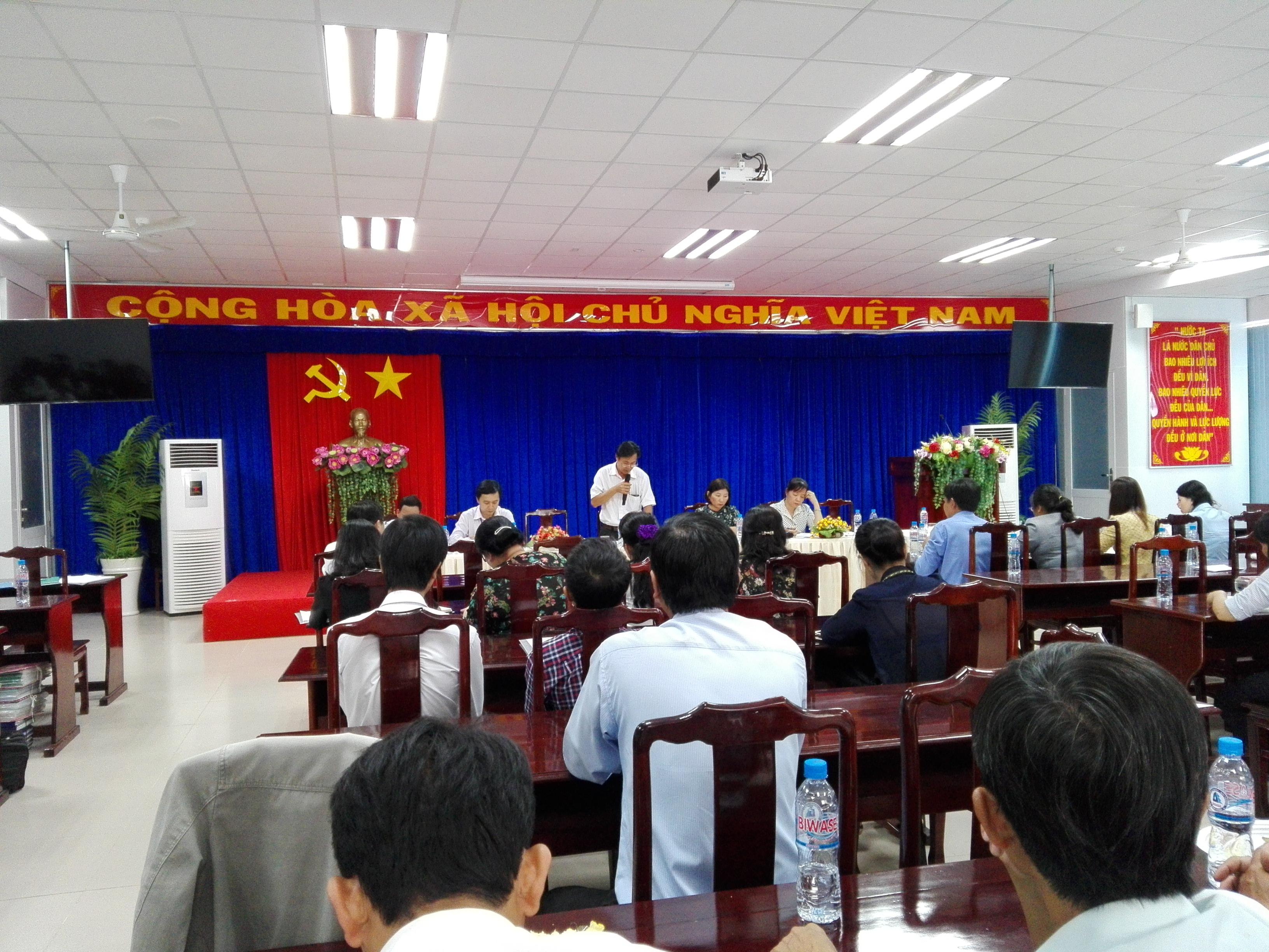 KIỂM TRA CÔNG NHẬN ĐẠT CHUẨN CMC-PCGD NĂM 2017